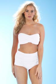 Valentine White Bikini available from SwimsuitsForAll, Click for more Details