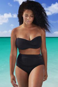 Valentine Black Bikini available from SwimsuitsForAll, Click for more Details