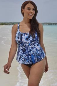 Magnolia Flared Tankini available from SwimsuitsForAll, Click for more Details