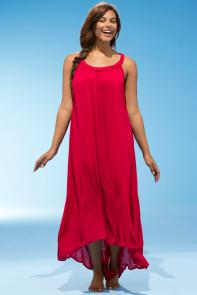 Candace Cherry Maxi Dress available from SwimsuitsForAll, Click for more Details