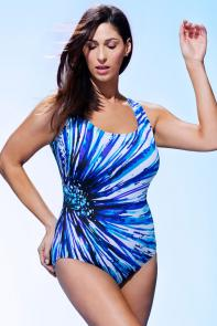 Longitude Radiant Tank Swimsuit available from SwimsuitsForAll, Click here to visit their site.