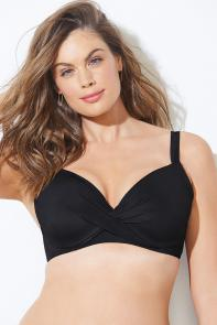 Dame Black Underwire Top available from SwimsuitsForAll, Click for more Details