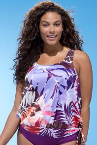 Tahiti Blouson Top available from SwimsuitsForAll, Click for more Details