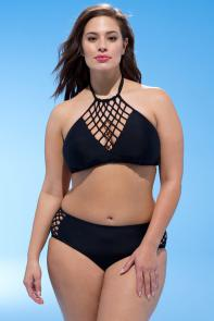 Ashley Graham Leader Bikini Set available from SwimsuitsForAll, Click here to visit their site.