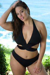 Ashley Graham Ambassador Bikini Set available from SwimsuitsForAll, Click here to visit their site.