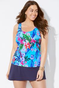Delight Classic Skirtini available from SwimsuitsForAll, Click for more Details